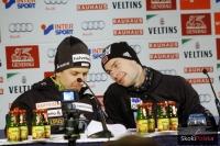 Simon Ammann i Anders Jacobsen, fot. Julia Piątkowska