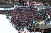 Kibice na 'Grosse-Olympiaschanze' w Ga-Pa, fot. Julia Piątkowska