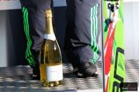 Szampan dla zwycięzcy w Innsbrucku, fot. Julia Piątkowska