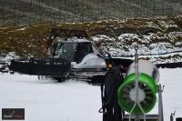 Ratrak i armatka śnieżna na Wielkiej Krokwi, fot. Bartosz Leja