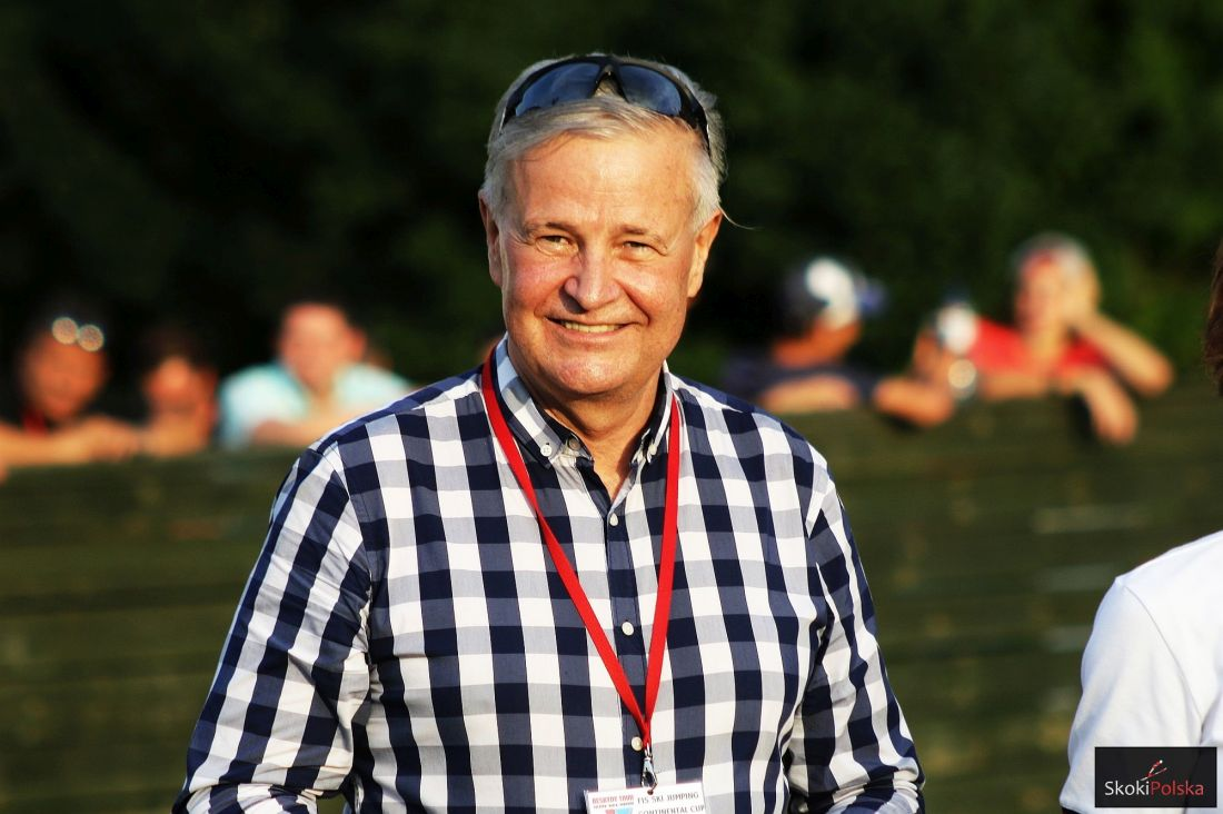 Prezes PZN Apoloniusz Tajner (fot. Julia Piątkowska)