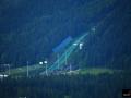 'Wielka Krokiew' w Zakopanem (widok z Gubałówki), fot. Bartosz Leja