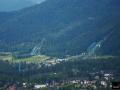 Skocznie w Zakopanem (widok z Gubałówki), fot. Bartosz Leja