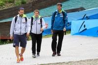 Michal Dolezal, Grzegorz Sobczyk, Stefan Horngacher, fot. Alicja Kosman / PZN