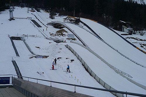 Saalfelden Felix Gottwald Schisprungstadion Uttenhofen fot.ski schwarzach.at - AUSTRIA - skocznie narciarskie