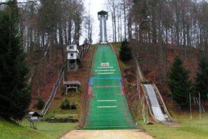 Pöhlbachschanze w Pöhla, fot. skisprungschanzen.com