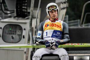 Rune Velta przed Phillipem Sjoeenem w krajowych zawodach w Oslo-Midtstuen