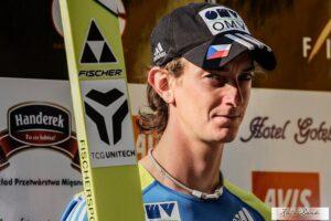 Liberec: Lukáš Hlava mistrzem Czech na normalnej skoczni