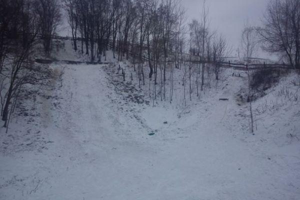 lodz skocznie dawidjurga - SKOCZKOWIE AMATORZY z ŁODZI ROZPOCZĘLI SKAKANIE NA ŚNIEGU