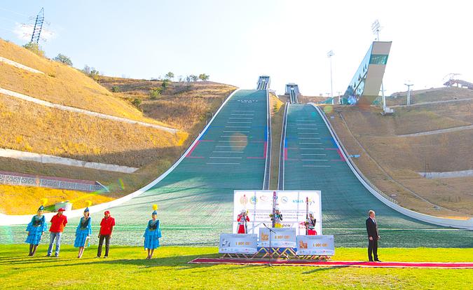 almaty fot. berkutschi - FIS Grand Prix Ałmaty 2014 - zapowiedź, program