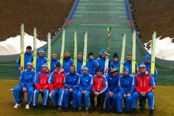 russia team skijumpigrusru - ROSJANIE TRENOWALI w KLINGENTHAL