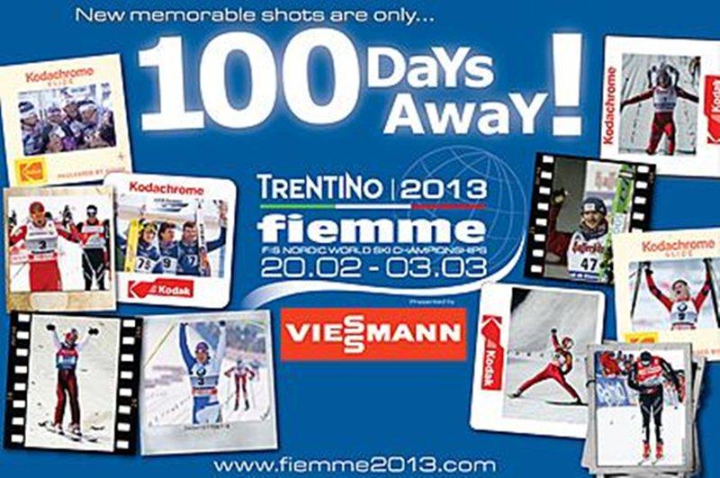 100 DNI DO MISTRZOSTW ŚWIATA W NARCIARSTWIE KLASYCZNYM VAL DI FIEMME 2013!