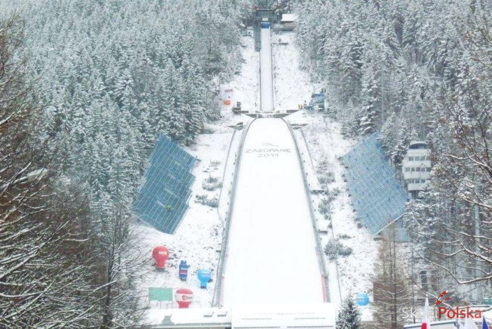 wielka krokiew bl - FIS Cup ZAKOPANE: ZWYCIĘSTWO DREHERA, GĄSIENICA NA 8. MIEJSCU