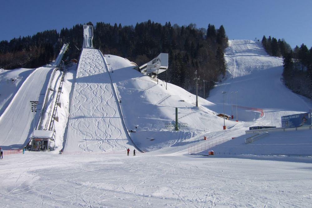 ga pa olympiaschanze martin.fisch - Puchar Kontynentalny w Garmisch-Partenkirchen odwołany