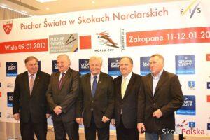 KONFERENCJA PRASOWA PRZED PUCHARAMI ŚWIATA w WIŚLE i ZAKOPANEM 2013