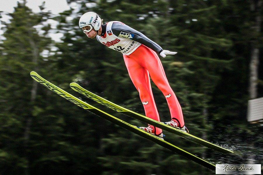 zauner david kd - FIS Cup Kranj: Zauner wygrywa jednoseryjny konkurs, sześciu Polaków punktowało