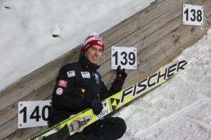 Stefan Kraft - rekordzista skoczni (fot. Stefan Piwowar)