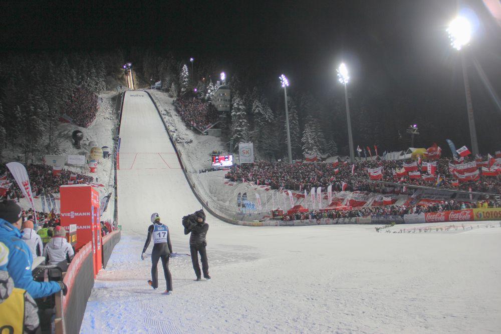 krokiew - Polacy - drużyna na medal