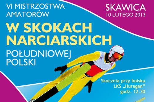 VI MISTRZOSTWA AMATORÓW w SKOKACH NARCIARSKICH POŁUDNIOWEJ POLSKI – SKAWICA 2013