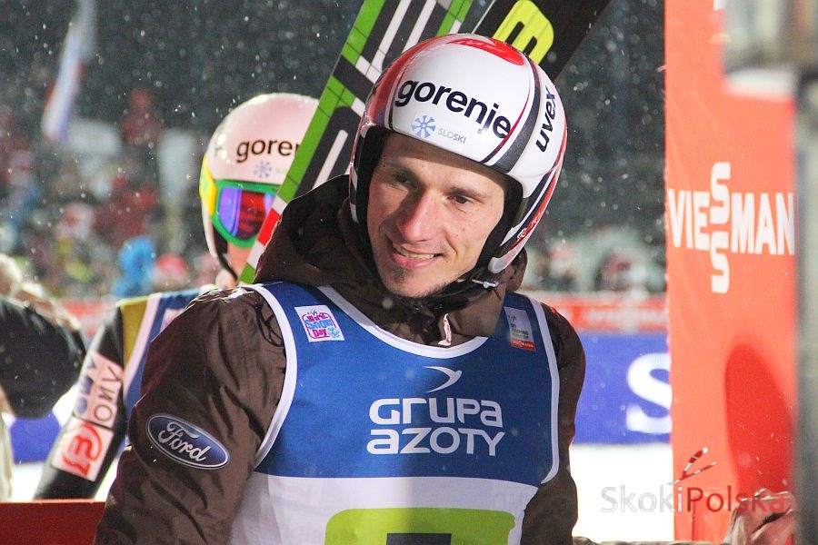 Robert Kranjec mistrzem świata w lotach w Vikersund