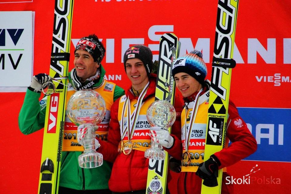 """ps2012 2013 podium s.piwowar - SCHLIERI, STOCH, """"GARBIK"""", PRZELICZNIKI... PODSUMOWANIE SEZONU 2012/2013 (cz.1)"""