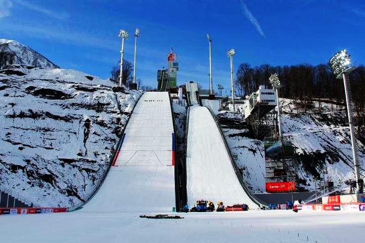 soczi esto sadok russki gorki jumping center skijumpingrus.ru - SOCZI: PRZED NAMI OLIMPIJSKI KONKURS NA NORMALNEJ SKOCZNI (LISTA STARTOWA, FAWORYCI)