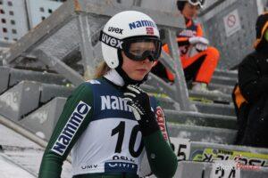 Lundby Maren S.Piwowar 300x200 - Norwegowie trenowali w Oberstdorfie, Stjernen najlepszy