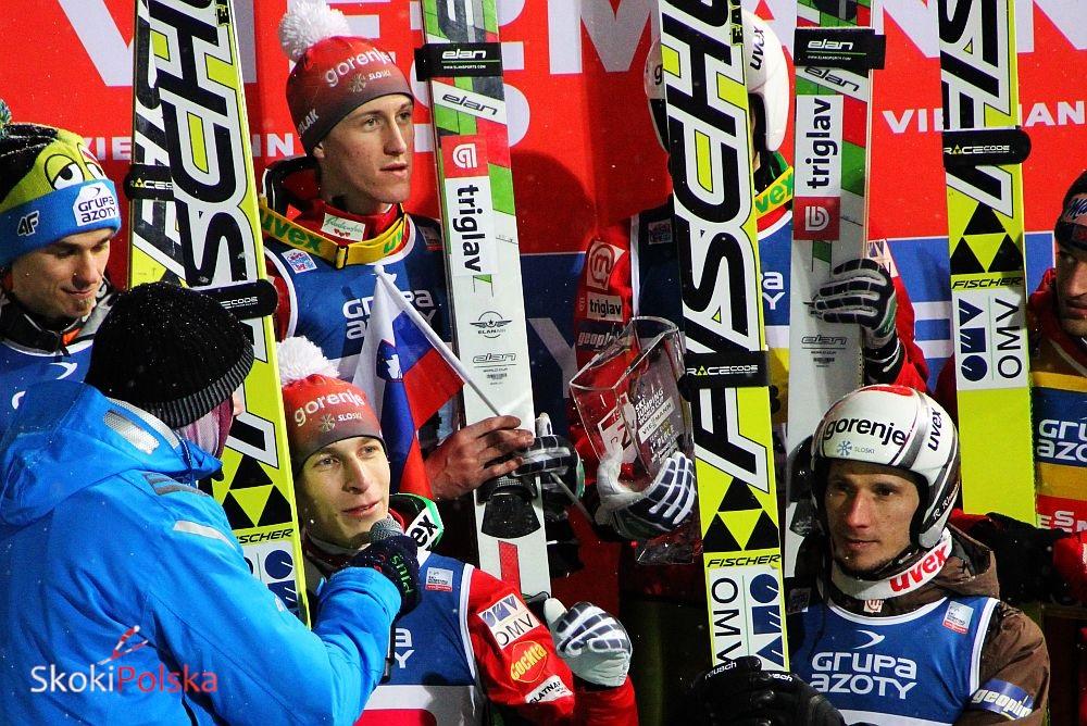 Slovenia Team Zak.2013 - Ciepła aura w Ramsau krzyżuje plany treningowe Słoweńców