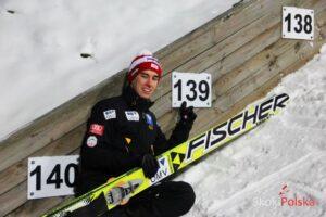 Stefan Kraft - rekordzista skoczni w Wiśle (fot. Stefan Piwowar)