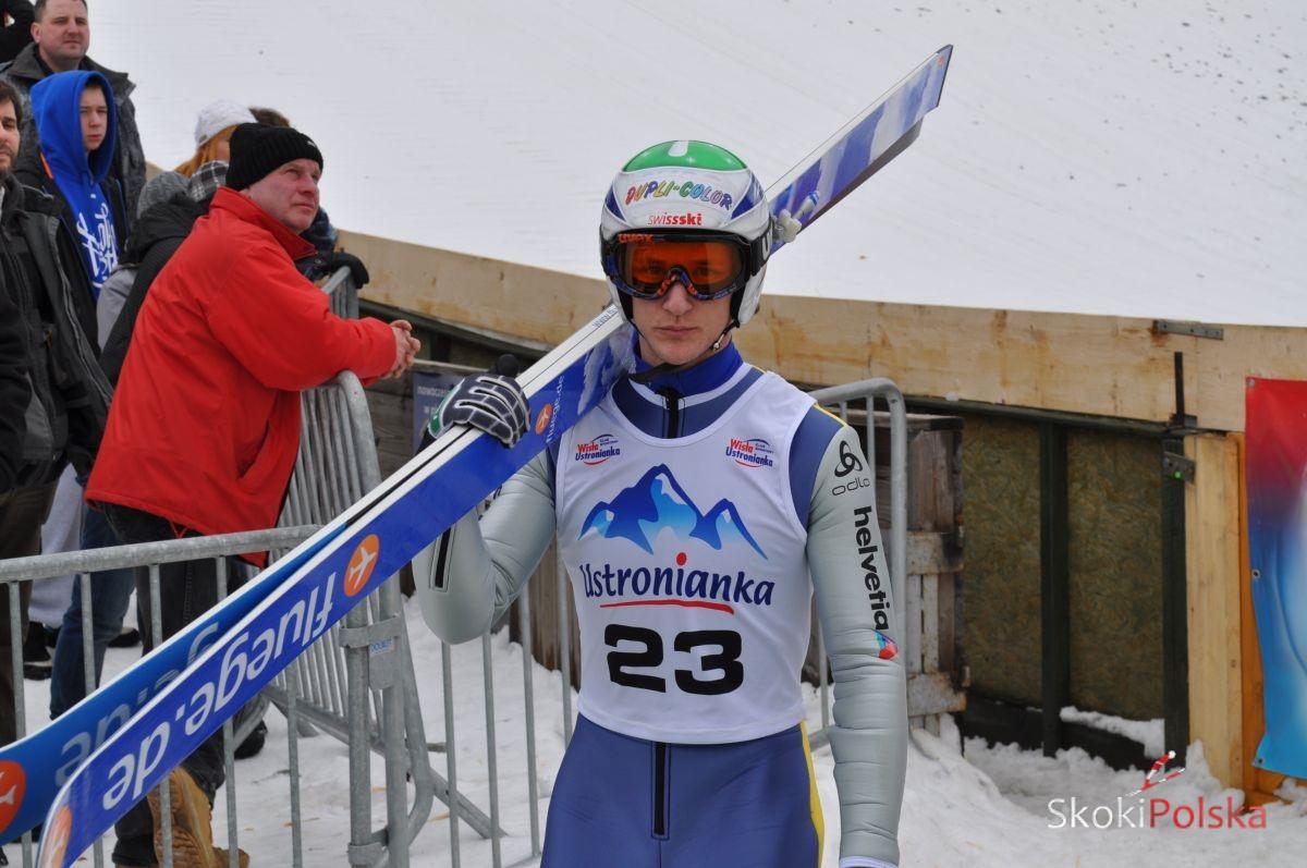 Grigoli Marco A.Sierotnik - GRIGOLI i EGGENHOFER ZWYCIĘŻAJĄ DRUGI FIS Cup w VILLACH, DWÓCH POLAKÓW PUNKTUJE