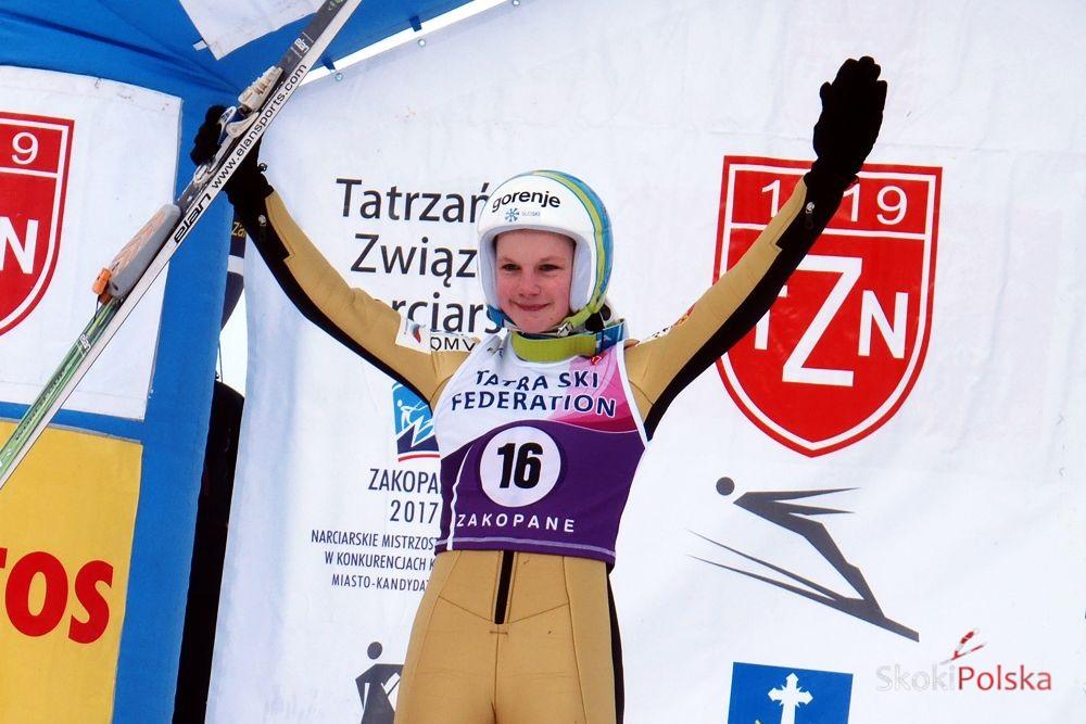 Klinec Ema S.Piwowar - EMA KLINEC TRIUMFUJE w INAUGURACJI FIS Cup KOBIET w VILLACH
