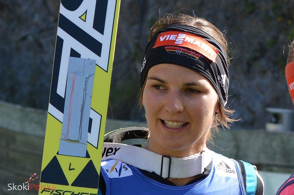Graessler Ulrike S.Piwowar - Sześć Niemek w kadrze na PŚ w Sapporo, Graessler z poważnymi urazami po upadku