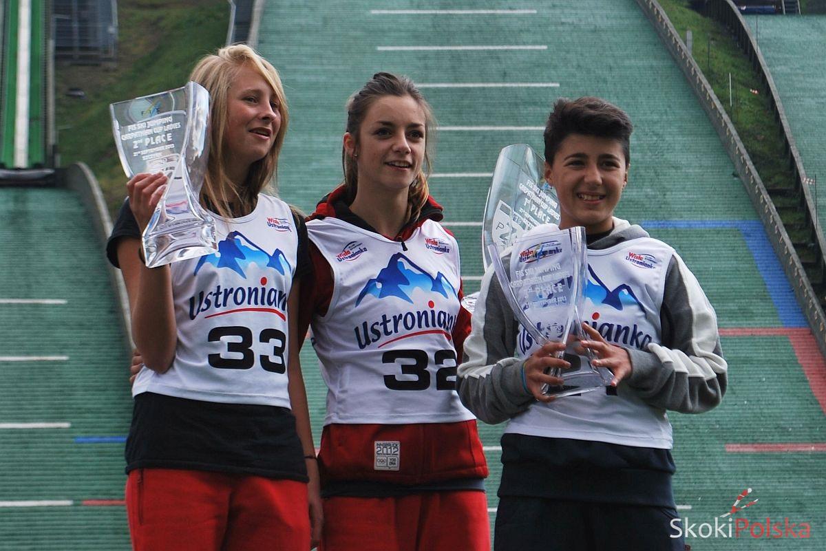 Puchar Karpat ladies 1 podium - MAGDALENA PAŁASZ WYGRYWA PIERWSZY KONKURS FIS CARPATHIAN CUP Pań w SZCZYRKU