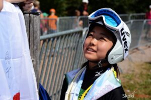 LGP Pań Czajkowski: Takanashi prowadzi na półmetku zmagań