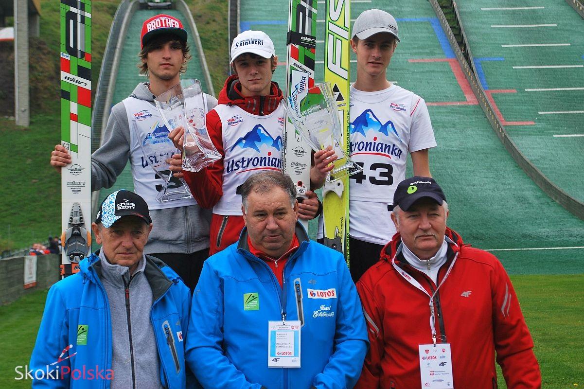 puchar karpat Szczyrk2013 man.podium 2 - SZYMON SZOSTOK TRIUMFUJE w DRUGIM KONKURSIE PUCHARU KARPAT w SZCZYRKU