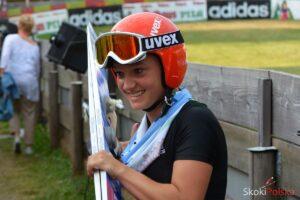 Althaus Katharina S.Piwowar 300x200 - LPK Oberwiesenthal: wygrana 15-letniej debiutantki z Francji, tylko Rajda z punktami