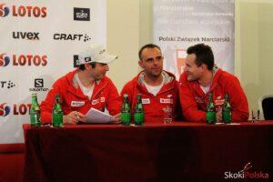 Trenerzy Łukasz Kruczek, Robert Mateja, Maciej Maciusiak (fot. Maria Grzywa)