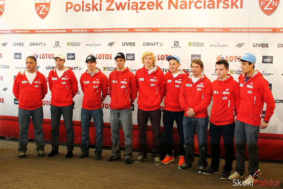 KADRY POLSKICH SKOCZKÓW NA SEZON 2014/2015