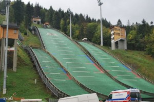 Kompleks skoczni Skalite w Szczyrku (fot. Bartosz Leja)