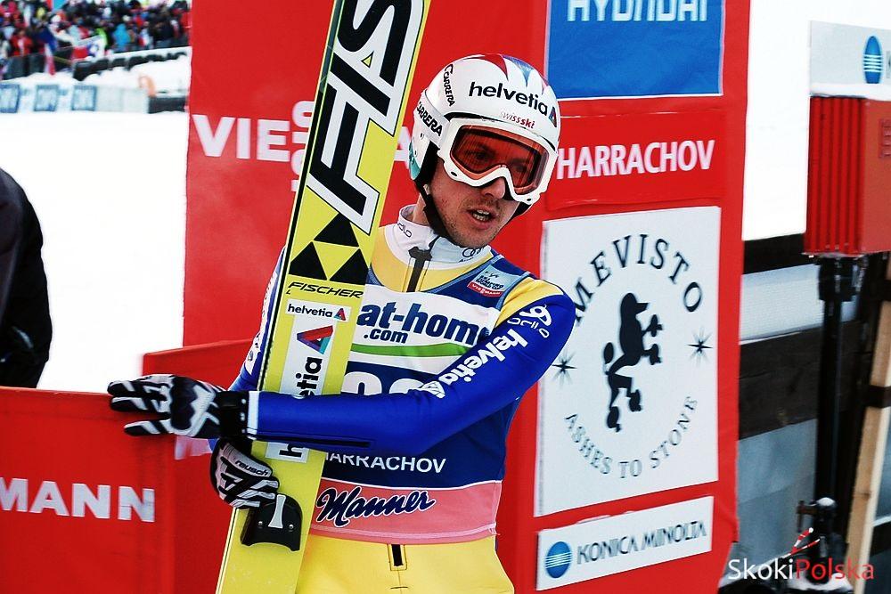 Ammann Simon Harrachov fot.S.Piwowar - SZWAJCARZY NA INAUGURACJĘ SEZONU w KLINGENTHAL
