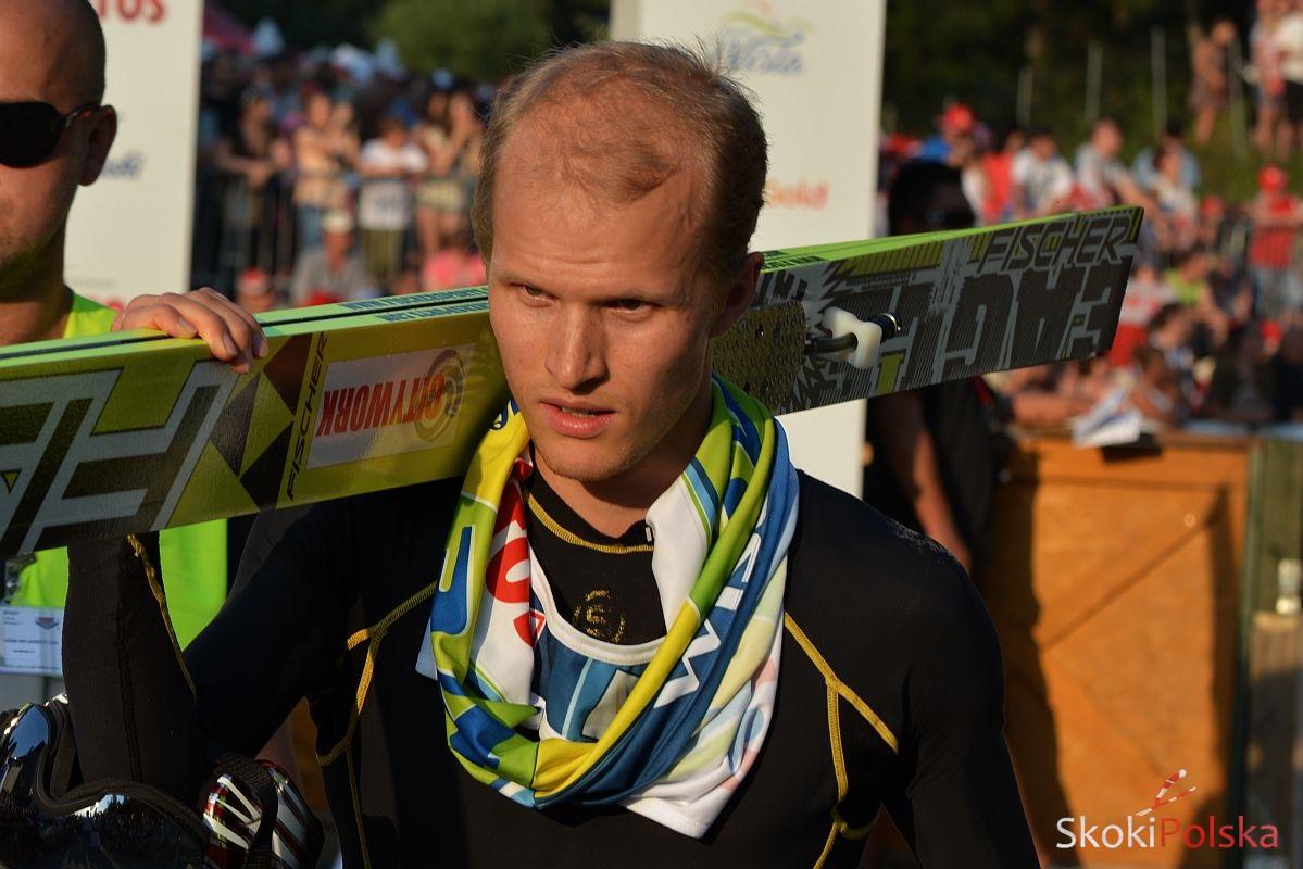 Asikainen Lauri S.Piwowar - Asikainen wrócił na skocznię po urazie pleców