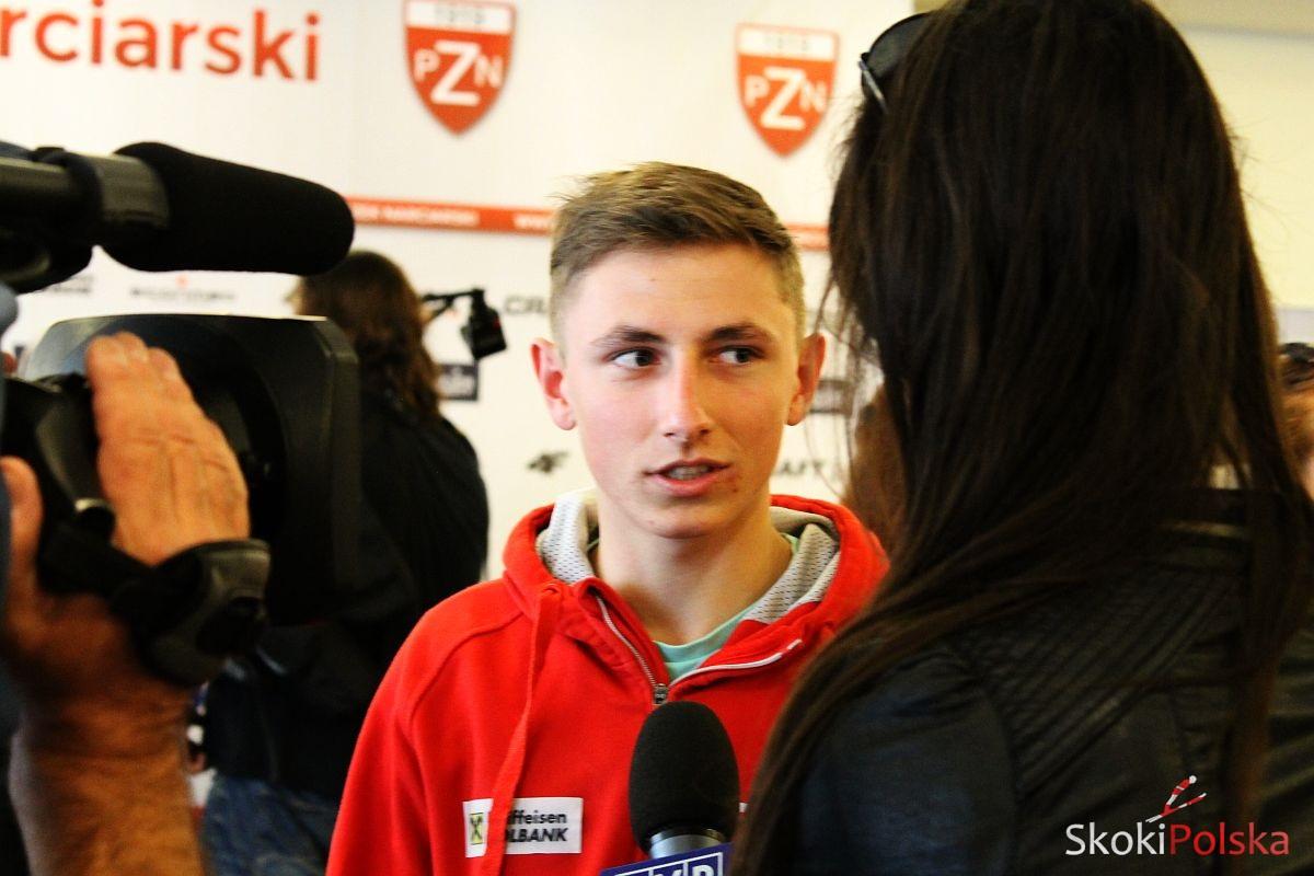 Biegun Krzysztof wywiad fot.M.Grzywa - POLACY z BIEGUNEM w SKŁADZIE NA KUUSAMO