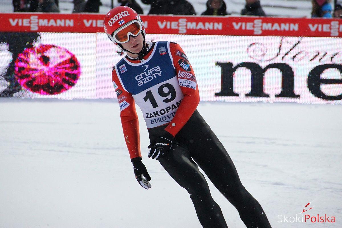 Ville Larinto - jeden z kandydatów na wyjazd do Falun (fot. Stefan Piwowar)