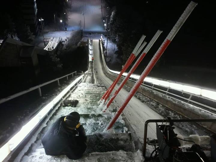 Rovaniemi 11.2013 pierwszy.snieg - Finlandia - skocznie