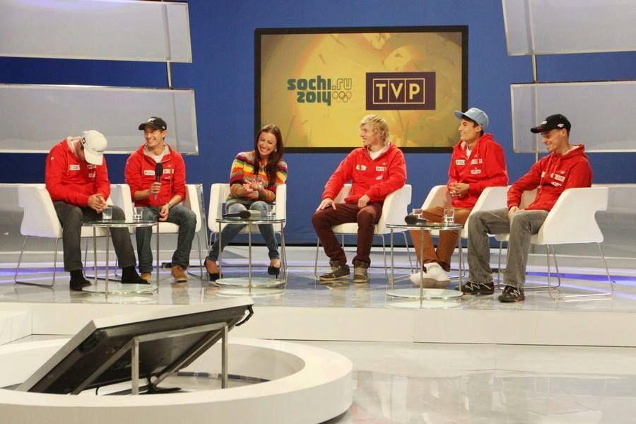 Soczi 2014 skoczkowie TVP - SOCZI: POLSCY SKOCZKOWIE JUŻ PO ŚLUBOWANIU
