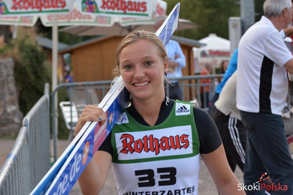 Althaus Katharina Hiza fot.S.Piwowar 1024x681 - FIS Cup VILLACH: KOLEJNE ZWYCIĘSTWO ALTHAUS, PAŁASZ PONOWNIE PUNKTUJE