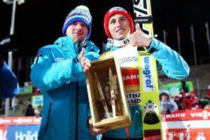 Maciej Maciusiak i Krzysztof Biegun w Klingenthal (fot. Andrzej Cienciała)