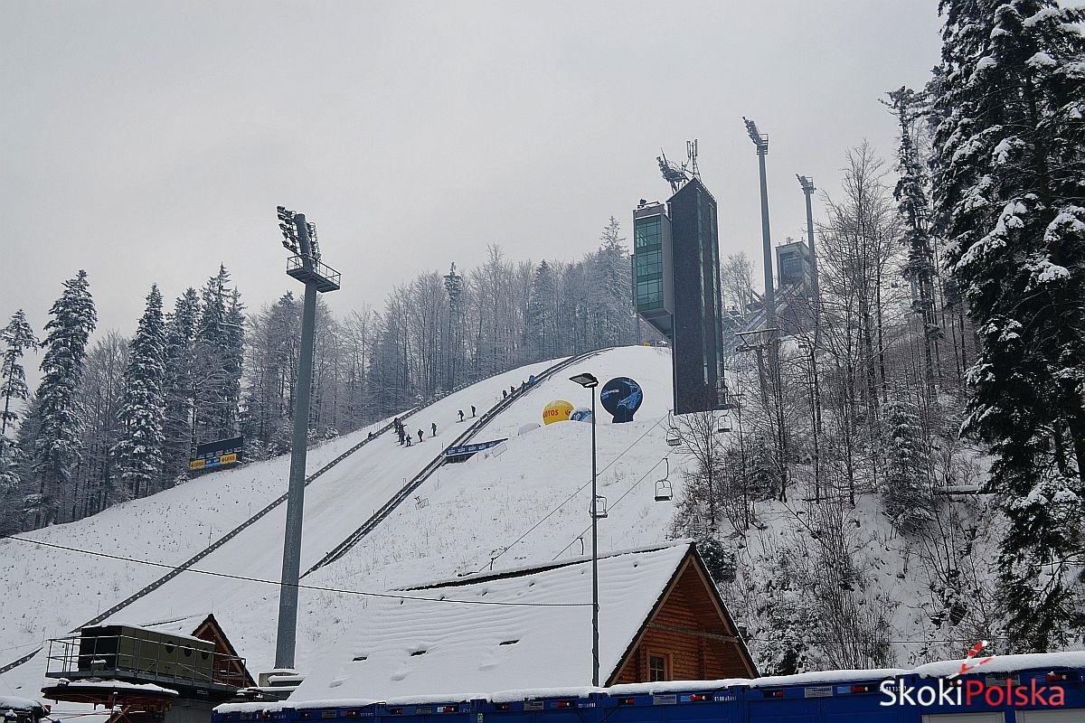 Wisla Malinka zima B.Leja - PK w Wiśle: Treningi przełożone na jutro z powodu wiatru