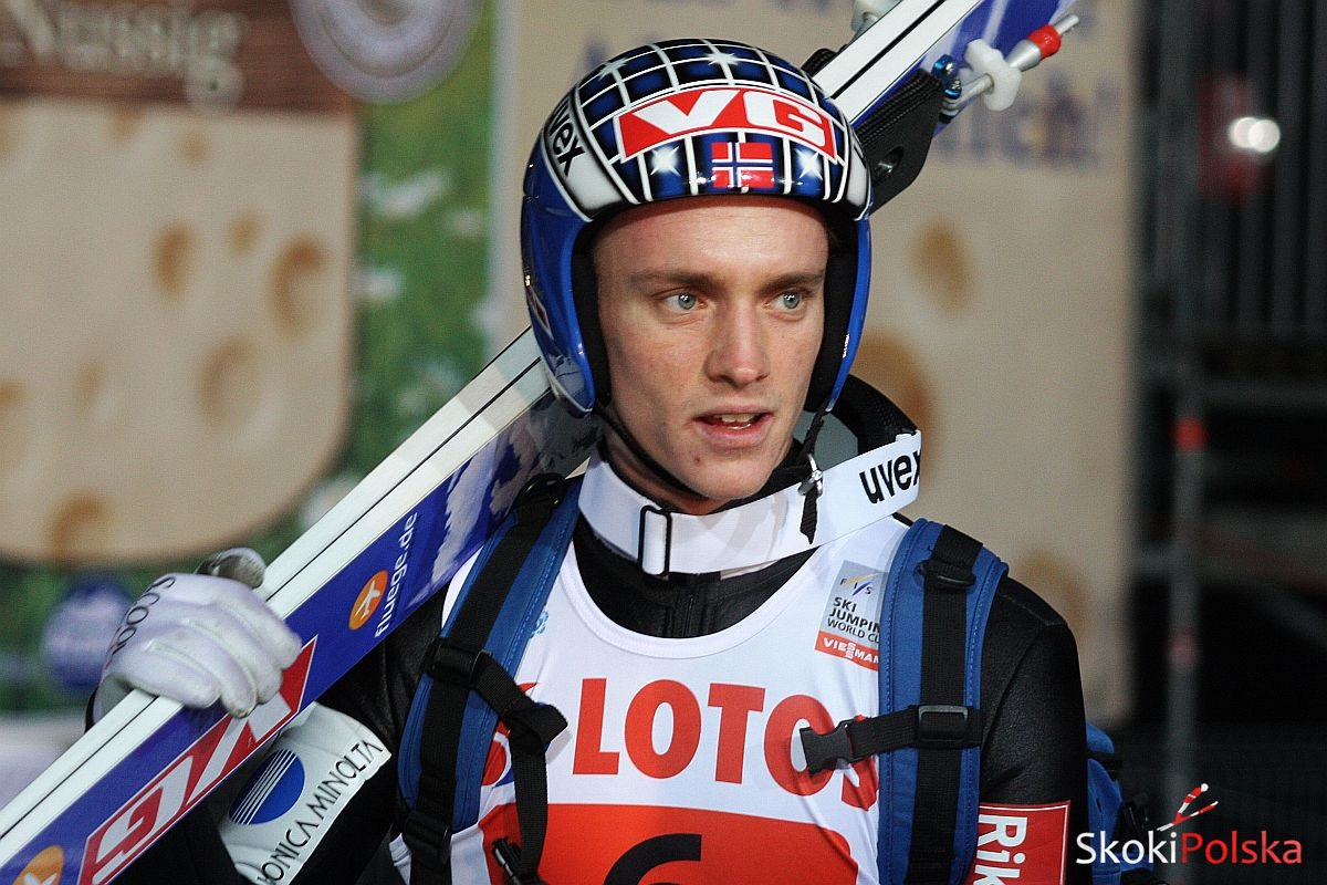 Fannemel Anders Zakopane B.Leja  - PŚ Lillehammer: seria próbna dla Fannemela, szósty Ziobro