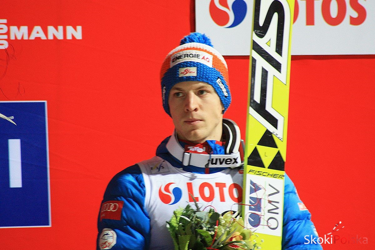 Hayboeck Michael Wisla B.Leja 1 - Kraft, Hayboeck i Prevc o pierwszym konkursie TCS w Oberstdorfie